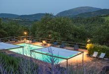 Wedding in the Green hills by Relais I' Antico Convento