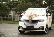 H-1 facelift 2018 by WHITE GOLD wedding car
