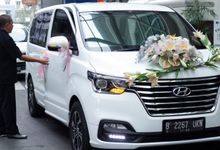 Neswin & Yoseline - 15 Juni 2019 - All Sedayu Kelapa Gading by WHITE GOLD wedding car