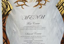 IMPERIAL GOLDEN ROYAL LUXURY STATIONERY SUITE by Crimson Letters