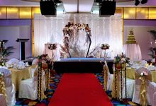 Wedding Theme - Gold Grandeur by Furama City Centre