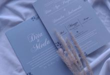 Dita & Meda - Hard cover cutting envelope by Keeano Project