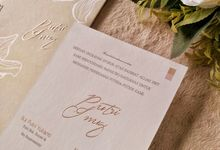 Putri & Inung - Soft Cover Envelope Custom by Keeano Project