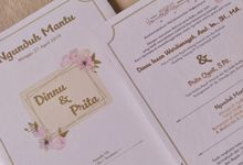 Dinnu & Prita - Invitations Hard Cover Cutting by Keeano Project