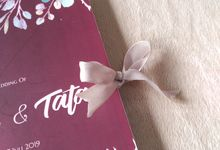 Wikan & Tata - Soft Cover Lipat 2 Pita by Keeano Project