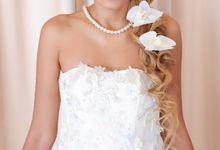 Gorgeous Bride Ms Yanthi by Yuka Makeup Artist