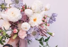 Pastel Theme Wedding by Tiffany's Flower Room