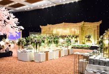 Wedding Rendra & Indri Granada Ballroom Menara 165 by Medina Catering