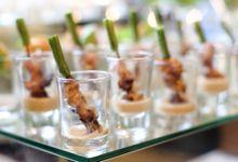 Food Tasting At Medina Cafe by Medina Catering