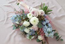 Romantic Botanical Bouquets by Fleurish Floral Design