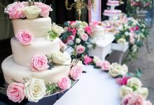 Wedding at Bvlgari Resort Bali by Le Voici Cake & Co