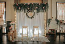 Seserahan dan Backdrop untuk Pertunangan Mba Leli by Lucklig