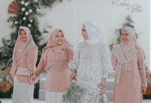 The Wedding of Rezha & Beta by Bride & Groom's Kitchen