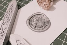 Wax Seal / Wax Coin by Noveliart.ID