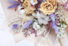 Dried Flower Bouquet by Tiffany's Flower Room