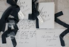 Vow Book Package by Calligraphy from The Other Day