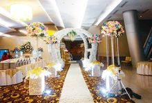 Wedding of Frendy & Novan at Citywalk Sudirman by Duta Venues