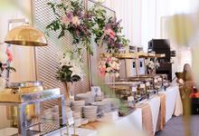 Buffet Arrangements Display by Medina Catering