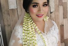 Make Up Akad & Resepsi Sheilla by Arifa Wedding Service