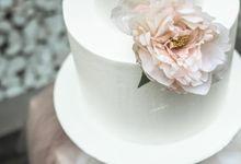 Romantic Dessert Table by Gordon Blue Cake