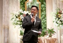 The Wedding of Irma & Yuza at Fairmont by La Oficio Entertainment