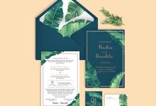 Undangan Ekslusif by Aura: Undangan Pernikahan | Wedding Invitation
