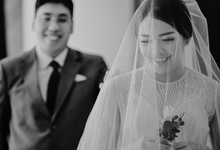 Wedding Lucky Ericia by Luciole Photography