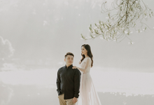Prewedding at Bandung (Kelvin Yohana) by Luciole Photography