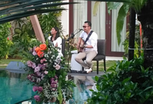 10/5/18 Acoustic duo for Rhiannan & Kynan wedding by Lucky Aces Acoustic Bali