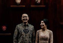 Lulu & Dimas Engagement at Shangri - La Hotel Jakarta by AKSA Creative