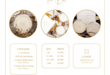 PRICE LIST 2020 by Lumiere Wedding Projects