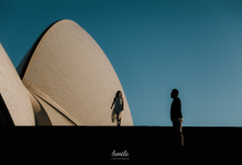 Couple session of A+F at Sydney by Lumilo Photography