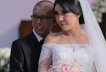 Wedding Day Darman and Sandredee by Luminous Bridal Boutique