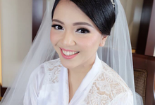 """Our Beautiful Bride on Dec 2nd 2017 """"Michele"""" by Luminous Bridal Boutique"""