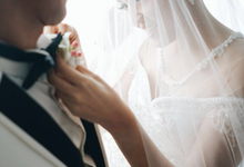 Wedding Day Daniel and Michelle by Luminous Bridal Boutique