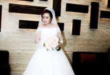 Wedding Day Mei Mei and Eddy by Luminous Bridal Boutique