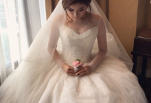 Wedding Day Martin and Aini by Luminous Bridal Boutique