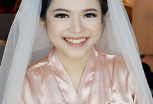 Our Beautiful Bride Yuana on Dec 10th 2017 by Luminous Bridal Boutique