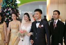 Wedding Day Hendra and Yuana by Luminous Bridal Boutique