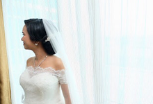 Wedding Day Kohei (Japan) and Sophie by Luminous Bridal Boutique