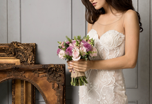Love is something that finds you by Luminous Bridal Boutique