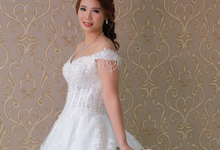 Beaautiful Bride Marisa Kim on July 7th by Luminous Bridal Boutique