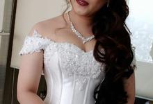Our beautiful bride Gracia 15.09.2018 by Luminous Bridal Boutique