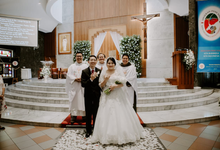 Wedding day Tim and Tere by Luminous Bridal Boutique