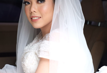 Our beautiful bride Nindy by Luminous Bridal Boutique