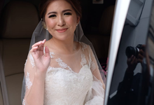 Our beautiful bride Aldita by Luminous Bridal Boutique
