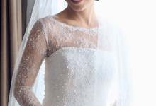 Holy Matrimony Clifford and Gladys by Luminous Bridal Boutique
