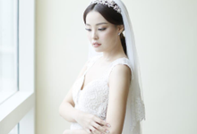 Wedding Stephanie and Sastra by Luminous Bridal Boutique