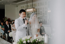 Wedding day Vicky and Cindy by Luminous Bridal Boutique
