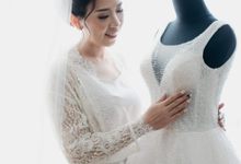 Wedding Day Merry and Roy by Luminous Bridal Boutique